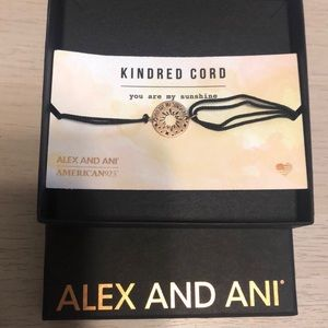 Alex and Ani Kindred Cord Gold Bracelet